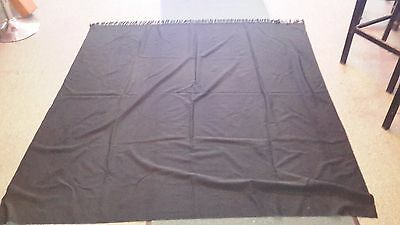Black Buggy Blanket