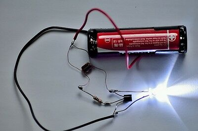 Joule thief Kit - Includes FREE postage