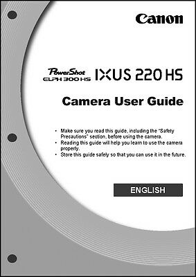 Canon elph 300hs manual.