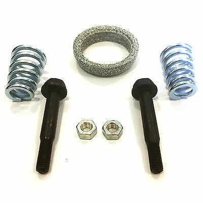 SET Exhaust Gasket Screws Springs & Nuts gasket Exhaust pipe Assembly kit