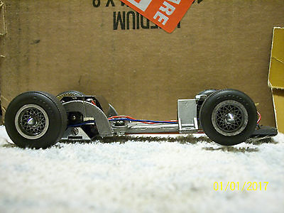 ALL NEW LISTING-1/24 Cox Chaparral 2D Chassis W/very fast FT 360 D motor LOOK