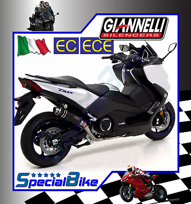 Scarico Completo Yamaha T-Max 530 2017   Giannelli X-Pro Nichrom Kat Euro 4