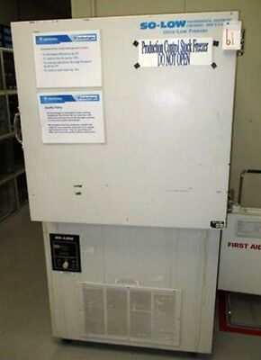 So-Low U85-7 Ultra Low Temperature Freezer COLD STORAGE TO -85°C Still in Use