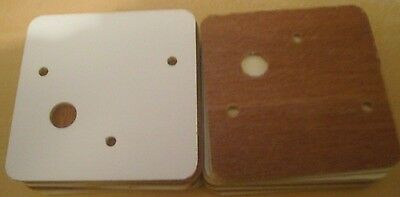 Sankyo Music Box MOVEMENT  SQUARE WOODEN  BASE-2 5/8 inch- LOT OF 20 BASES