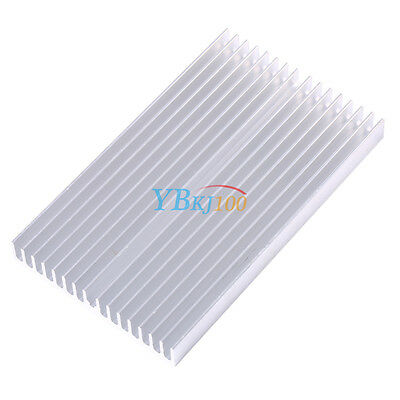 Heat sink 100*60*10mm IC Heat sink Aluminum Cooling Fin Hot sale xx