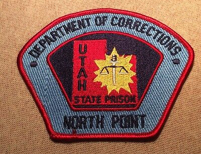 UT Utah Department of Corrections State Prison at North Point Patch