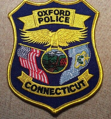 CT Oxford Connecticut Police Patch