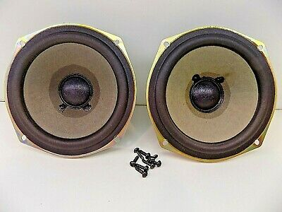 "Sony 5.25"" 6 Ohm  Audio Speaker Woofer Pair"