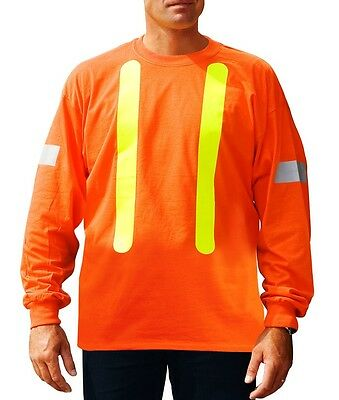 High Visibility Long Sleeve Shirt size-M