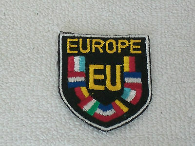 VTG Lot of 12 EU Europe European Travel Patches Unused Collection From 1980's