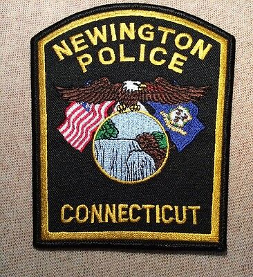 CT Newington Connecticut Police Patch