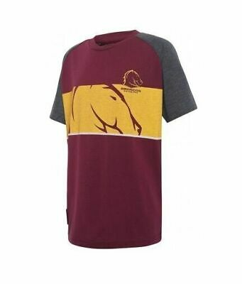Brisbane Broncos NRL 2017 Classic T Shirt Adults, Kids & Infants Sizes Available