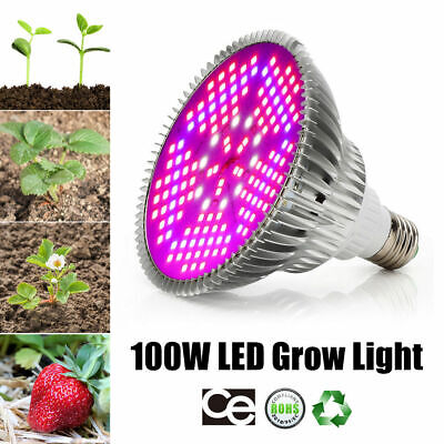 18W 20W 30W 45W 120W LED Grow Light Veg Flower Hydroponics Indoor Plant Lamp