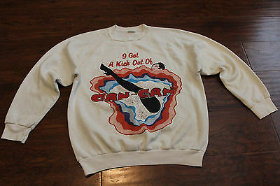 Vtg I Got A Kick Out Of Can-Can Chita Rivera Rockettes Can-Can Sweater