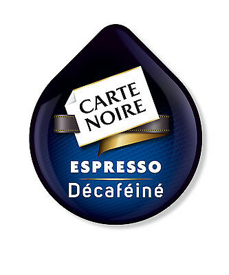 24 x Tassimo Carte Noire Espresso Decaffeinated Coffee T-Discs, Sold Loose Decaf