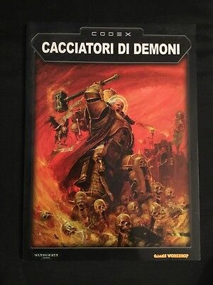 Warhammer 40K - Codex Cacciatori Di Demoni - Games Workshop - ITA