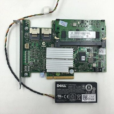 Dell Poweredge PERC H700 512MB Cache 6G SAS Raid Controller XXFVX with battery