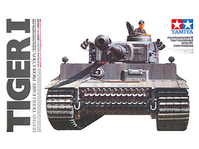 Tamiya 1/16 Tiger 1 Tank with DMO Multi Function Options kit Radio Control 56010