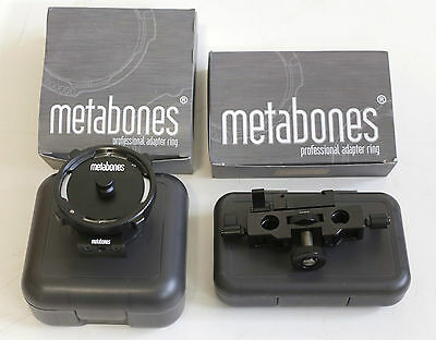 Metabones PL to Sony E-mount T Adapter + Mount-Rod Support Kit
