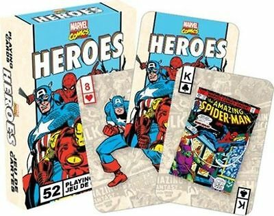 Marvel Comics Playing Cards Game Heroes Retro Comic Art Playing Cards Deck