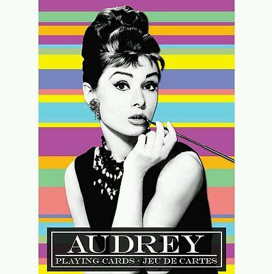 Audrey Hepburn Playing Cards Game 52 Different Images Gift Classic Actress
