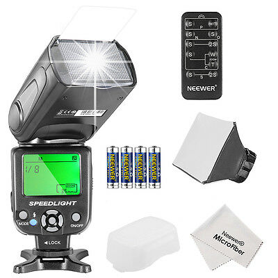 Neewer NW561 Flash Kit w/ reflector for Canon Rebel T5i T4i T3i T3 T2i T1i SL1