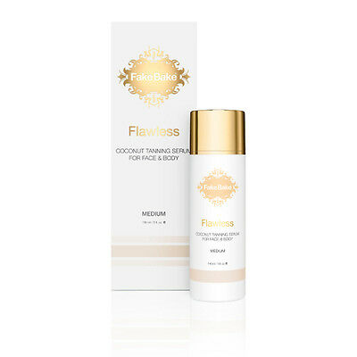 FAKE BAKE FLAWLESS COCONUT SELF TANNING SERUM 148ML FACE BODY rrp £29.95