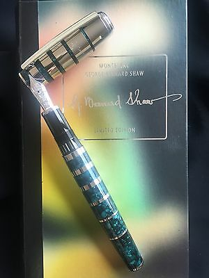 George Bernard Show Fountain Pen Montblanc Writers Limited Edition 2008