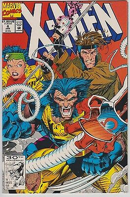 X-Men #4 Vol 2 NM Condition 1st Print 1992 1st Omega Red Appearance
