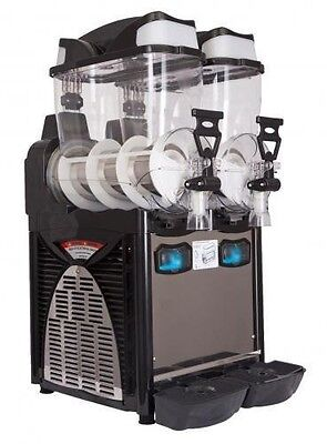 "Italian Double Bowl Slush Drinks Machine""SALE ,SALE"" Free Stock £200 Fast & Free"