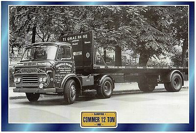 COMMER  12 TON                         Glossy   Picture (T657)