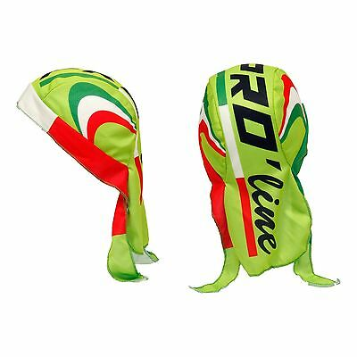Bandana Sottocasco Ciclismo Proline Verde Fluo Cycling Hat Cap One Size New