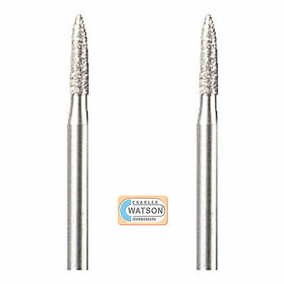 Dremel 7144 Multi Tool Accessory - 2.4mm Diamond Wheel Point
