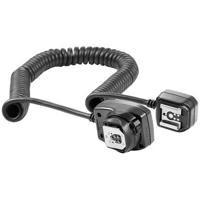 Neewer 9.8ft E-TTL E-TTL II Off Camera Flash Speedlite Cord for Canon 5D Mark II