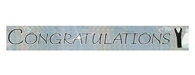 CONGRATULATIONS Banner 9ft/2.74m Bride Groom Wedding Engagement Party Decoration
