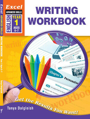 Excel Advanced Skills Writing Workbook Year 1 NEW - Free Shipping 9781741254853