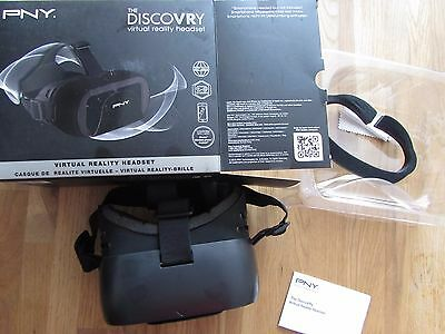 PNY The DiscoVRy Headset Virtual Reality Glasses for smartphones