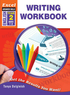 Excel Advanced Skills Writing Workbook Year 2 NEW - Free Shipping 9781741254402