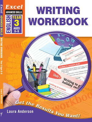 Excel Advanced Skills Writing Workbook Year 3 NEW - Free Shipping 9781741254037