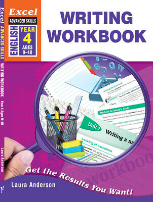 Excel Advanced Skills Writing Workbook Year 4 NEW - Free Shipping 9781741254044