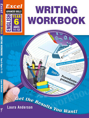 Excel Advanced Skills Writing Workbook Year 6 NEW - Free Shipping 9781741254068