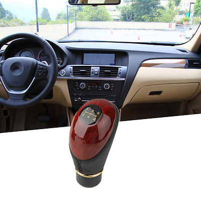 10mm PU Gloss Car 5 Speed Manual Gear Shift Knob Shifter Universal Automible PK