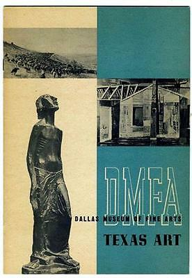 Texas Paintings & Sculpture in the Collection of Dallas Museum of Fine Arts 1951