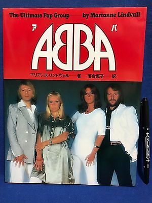 ABBA Japan Photo Book Ultimate Pop Group 1978 Agnetha Bjorn Benny Anni-Frid VHTF