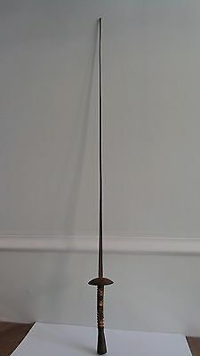 Antique Fencing Sword Klingenthal Germany Coulaux & C 42""