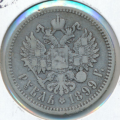 Russia Rouble 1899