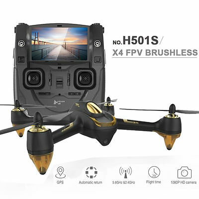 Hubsan H501S X4 FPV Brushless With 1080P HD Camera GPS RC Quadcopter RTF Drone