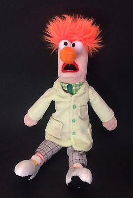 "Disney Store Beaker Soft Toy from The Muppet Show 11"" Ginger Hair doll plush"