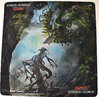 NEW MTG Magic the Gathering Zendikar vs Eldrazi Double 2-Player Rubber Playmat