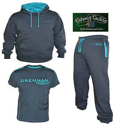 Drennan Heavyweight Hoody + T-Shirt + Joggers Set *Brand New* - Free Delivery